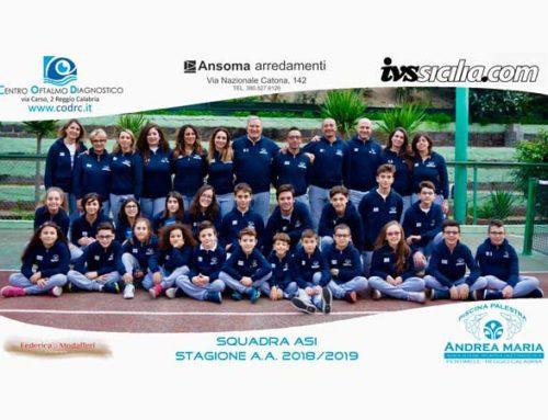 """IVS Sicilia è sponsor di A.S. Nuoto Dilettantistica """"Andrea Maria"""""""