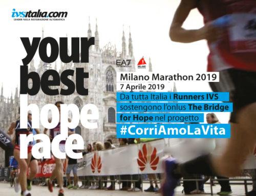 IVS Italia alla Milano Marathon 2019