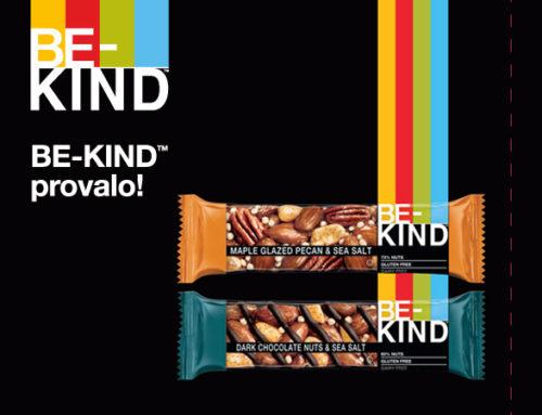 Be-Kind: il nuovo snack di MARS e KIND® distribuito da IVS Italia