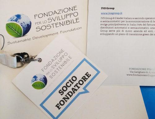 IVS Group entra a far parte della Fondazione per lo Sviluppo Sostenibile.