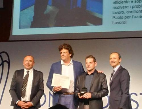 Eccellenze al lavoro 2019: premiato il dipendente di IVS Italia Paolo Mazzola