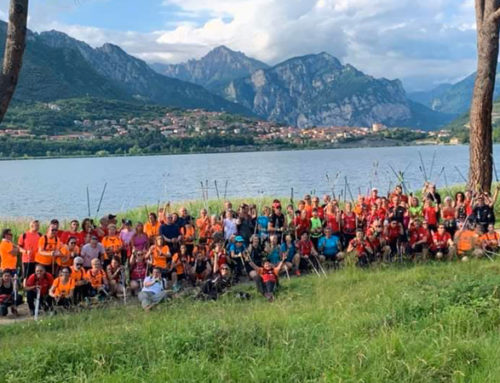 IVS Italia per l'International Nordic Walking Festival 2019