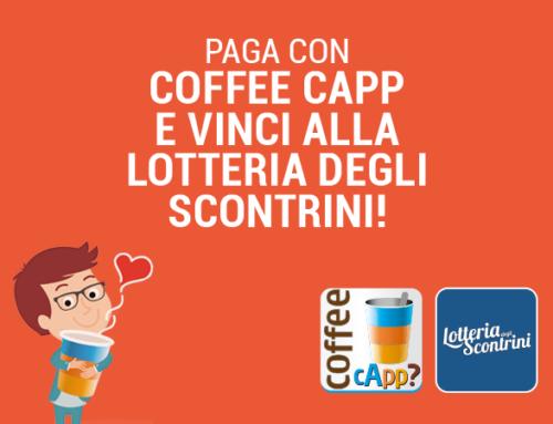 Con Coffee cApp vinci alla lotteria degli scontrini!
