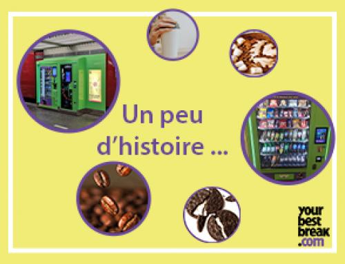 Un peu d'histoire: le distributeur automatique en France
